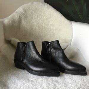 Strategia Italian leather booties